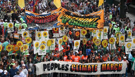 climate change march 2